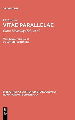 Vitae Parallelae, Vol. IV CB