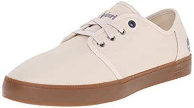Timberland Men's Newport Bay Canvas Fashion Sneaker Birch Washed 10 M US