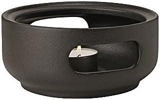 Stelton Theo 茶壶加热器,石头,黑色,16 x 8 x 16 厘米