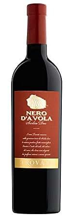 【亚马逊海外直采】Trovati 特洛瓦帝 Nero D'avola Sicilia DOC 黑达沃拉干红葡萄酒西西里DOC 750ml(意大利进品牌红酒)