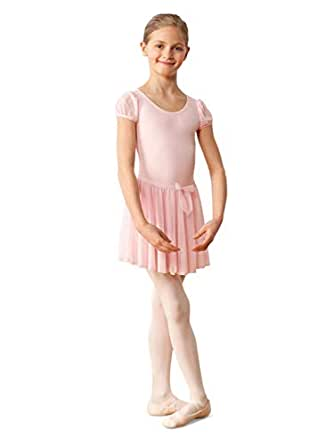 Capezio Big Girls' Children's Collection Circular Pull-On Skirt, Pink, Large