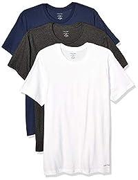 Calvin Klein 卡尔文·克莱恩 男式 棉质经典多件装圆领T恤