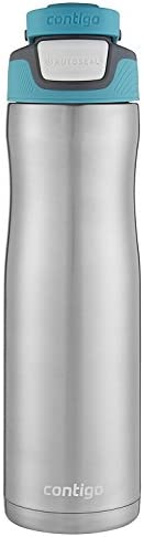 Contigo 康迪克 AUTOSEAL Chill 不锈钢水瓶 24盎司/约710毫升,Scuba