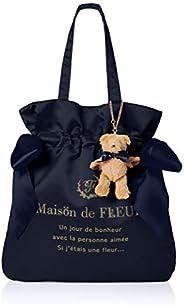 Maison de FLEUR 带小熊挂件 双蝴蝶结手提包 8A94F0J1700