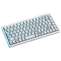 Cherry 樱桃G84-4100 SLIM PC/Mac,超薄有线键盘白色