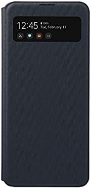 Galaxy A41 S VIEW WALLET COVER [Galaxy正品 国内正品]EF-EA414PBEGJP  黑色