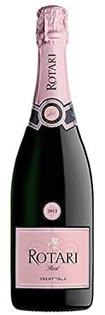 【亚马逊海外直采】Rotari 罗塔丽 Rose Trento DOC 天然桃红起泡酒特伦托DOC 750ml (意大利品牌)
