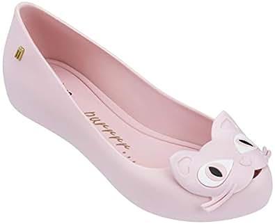 Melissa Ultragirl Cat II 女士芭蕾平底鞋 粉红色 8 M US