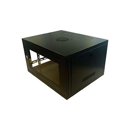 Dynamode DYNA-CAB-WFP-FE-9U450 600×450 X 510ミリメートルのLMSデータ48.26 cm壁キャビネットネットワークキャビネット