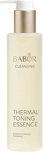 BABOR CLEANSING 净肤温泉精华,爽肤水,适合敏感肌肤,保湿面部护理,含芦荟,不含酒精,1x200毫升