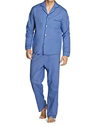 Hanes 恒适 男式 长袖长裤睡衣裤礼品套装