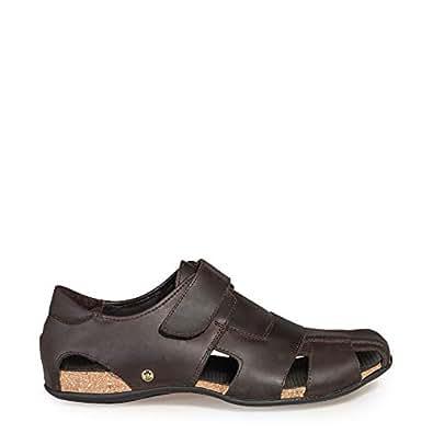 Panama Jack 男 凉鞋 Fletcher Basics C1 Napa Grass Marron 棕色 40