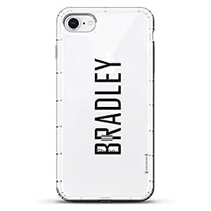Luxendary Designer,3D 印花,时尚,高端,气袋垫LUX-I8AIR-NMBRADLEY2 NAME: BRADLEY, MODERN FONT STYLE 透明