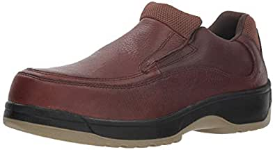 florsheim work men's fs2405 钢脚踏工作靴,深棕色,9 3e us