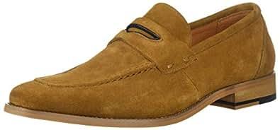 STACY ADAMS 男士 Colfax 软帮鞋一脚蹬乐福鞋 棕褐色 7 M US