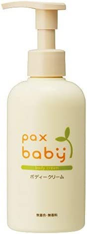 pax baby 身體乳(無香料、無色素) 大容量180g