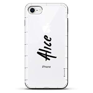 Luxendary Designer,3D 印花,时尚,高端,气袋垫LUX-I8AIR-NMALICE1 NAME: ALICE, HAND-WRITTEN STYLE 透明