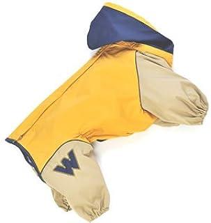 WHCY 宠物用品 狗服装 雨衣 J外套B 0091W104 芥末黄 8号