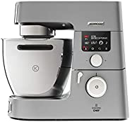 Kenwood Cooking Chef 美食 kcc9060s | 厨房机器带烹饪功能 | 超强1500瓦发动机性能 | 大型6.7 L 碰碗 | 一体机厨房帮手绚丽配件