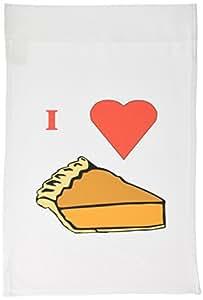 florene FOOD N beverage–I LOVE pumpkin Pie–旗帜 12 x 18 inch Garden Flag