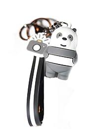 礼物之家 3D 三只小熊钥匙扣,卡通玩具礼品:三只小熊,We Bare Bears