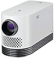 LG Electronics 投影仪,*大 304.8 厘米(120 英寸)CineBeam 激光全高清投影仪,白色 白色 HF80LS