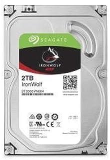 Seagate 3.5 英寸 2 TB 铁狼 SATA III 硬盘驱动器 - 银色