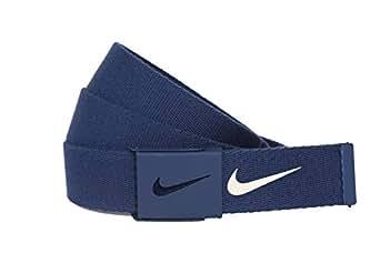 Nike 耐克男士 Tech Essentials 网状腰带  College Navy One Size