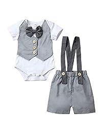 女婴服装,2 件套,花卉印花荷叶边长袖上衣 + 破洞牛仔裤牛仔长裤 1-6T