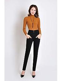 羽绒裤女外穿双面显瘦弹力紧身高腰加厚修身保暖羽绒裤030款