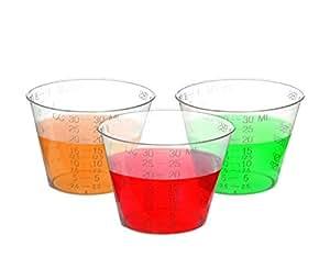Oakridge Products 出品的 29.6 毫升塑料药杯 透明 CUP-1OZE-300PK