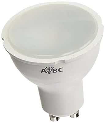 A2BC LED LED 照明灯泡 GU10,6 瓦,白色,5.5 x 5 厘米,5 件装
