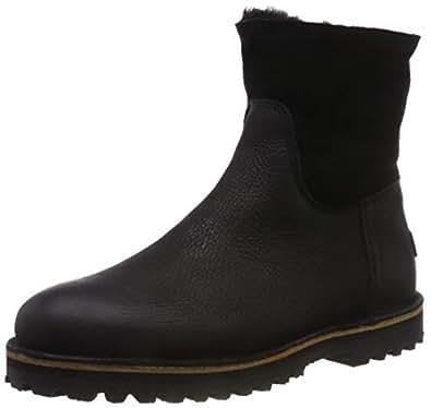 Shabbies Amsterdam 女士 Shs0292 便靴 黑色(黑色 0001) 40 EU