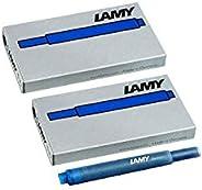 Lamy 凌美 1220536 T 10 墨盒套装,10 件蓝色
