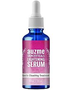 Auzme Hydroquinone 皮肤闪耀精华 2% Kojic 酸温和皮肤漂白精华液,黑斑和梅拉斯马