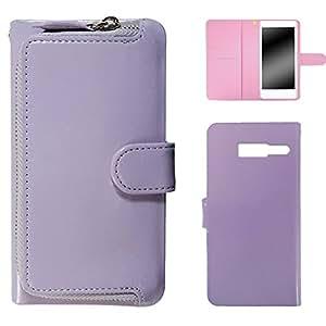 whitenuts 壳 手册式 带硬币袋WN-OD206800 21_ RAZR M 201M 紫色