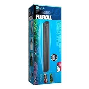 Fluval T5 Quadruple Lamp Aquarium Fixture, 24-Inch