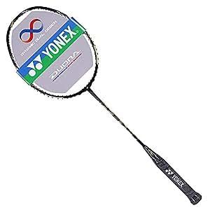 YONEX 尤尼克斯 中性 羽毛球拍单拍全碳素急速进攻羽拍双刃 DUORA 99 黑色(亚马逊自营商品, 由供应商配送)