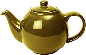 London Pottery 67253 Globe 陶瓷茶壶 带过滤器 金色 4-Cup Teapot (1 Litre) 84453