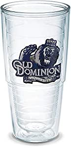 Tervis Old Dominion University Emblem Individual Tumbler, 24 oz, Clear