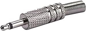 Alpha 音频插头,6,3 毫米立体声插头,用于直径*大为 6 毫米的电缆