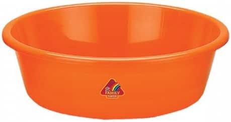 Vrinda® 塑料经济型圆盆 混色 20英寸