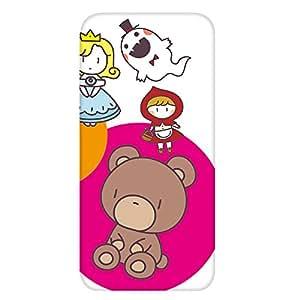 智能手机壳 透明 印刷 对应全部机型 cw-241top 套 熊 熊 角色 UV印刷 壳WN-PR476253 STAR WARS mobile SW001SH 图案 A