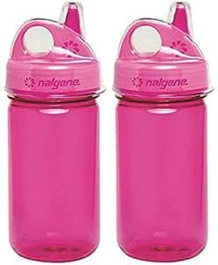 Nalgene Grip-n-Gulp - 2 只装 漂亮粉色 2182-6012-2