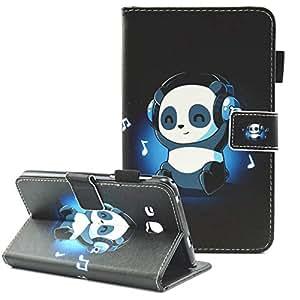 三星 Galaxy Tab A 7.0 手机壳,SM-T280 SM-T285 手机壳,Fvimi 全身轻质 PU 皮革对开式钱包支架保护套适用于三星 Galaxy Tab A 7.0 英寸平板电脑 2016 年发布FMT280-03