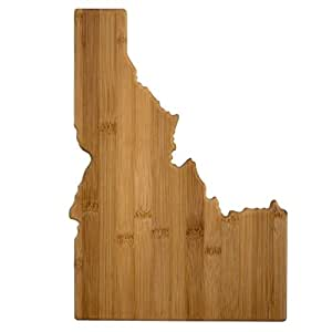 Totally Bamboo Cutting and Serving Board, Idaho State