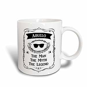 3dRose 马克杯 白色 11 oz mug_232447_1