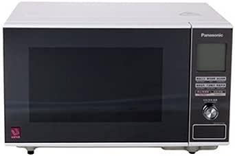 Panasonic 松下 NN-GF371W 微波炉 白(镜面钢化玻璃、抗菌涂层、无转盘设计、LCD显示屏、智能加热)