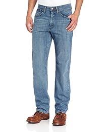 Lee男士高级精选经典款直筒牛仔裤