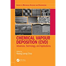 Chemical Vapour Deposition (CVD): Advances, Technology and Applications (Series in Materials Science and Engineering) (English Edition)